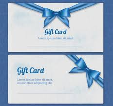 gift card formats gift card template 14 free sample example format download