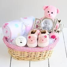 deluxe new baby gift basket newborn her boy gifts