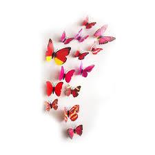 3d plastic erfly wall stickers fridge magnets mydeal lk best deals in sri lanka