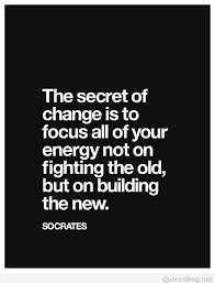 Change Quote Amazing The Secret Of Change Quote