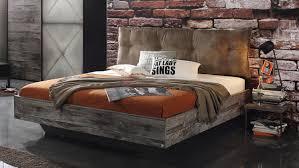 Schlafzimmer Timberstyle 4 Teilig Graphit Sunwood Stahl Optik Vintage