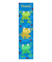 Green Frog Personalized Growth Chart Zulily Zulilyfinds