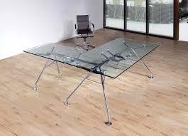 glass l shaped desk furniture