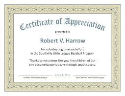 Examples Of Certificates Of Appreciation Wording Amazing Sample Certificate Of Appreciation For Volunteers Best Of