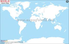 World Map Unlabeled Colored Outline Map Of Earth World Map