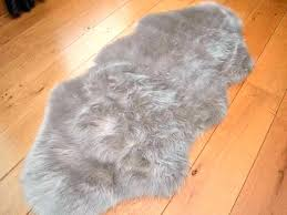 faux animal rug fur gray grey shapes zebra hide skin rugs uk