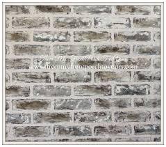 Painting Fake Brick Paneling Diy Faux Brick Wall Tutorial Using Chalk Paint Faux Brick Walls