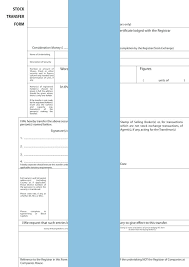 Example Of Share Certificate Stunning Free Template Stock Transfer Ledger Excel Hmrc Form