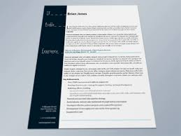 Free Resume Template Indesign Sample Resume Cover Letter Format