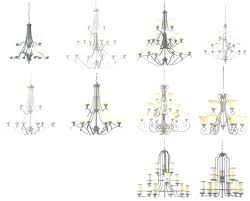 types of chandeliers small crystal