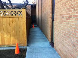 the narrow alley near the dorms where braeden bradforth collapsed after a conditioning practice at garden city community college in august
