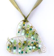 wirework chic heart pendant jewellery
