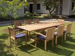 teak patio furniture modern