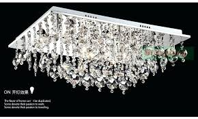 crystal ceiling lamp modern crystal ceiling lighting rectangle surface mounted contemporary lighting semi flush ceiling crystal ceiling