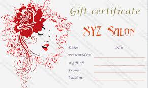 Gift Voucher Template Word Beauteous Nail Salon Gift Certificate Template Inspirational Hair Stylist T