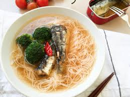 my time machine a short essay about eating alone and the  sardines noodle soup recipe