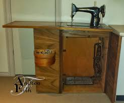 Treadle Sewing Machine Cabinet Obsessive Creativeness 1953 Model 201k Singer Treadle Sewing Machine