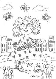 Small Picture Peppy in May coloring page Free Printable Coloring Pages