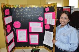 adelphi science fair brings out inventive side of students  regina levy s experiment explored whether the dye in kool aid and grape soda could be