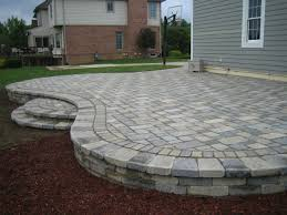 interior architecture charming cost of patio pavers in 2018 brick paver costs to install