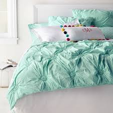 Ruched Rosette Quilt + Sham | Everything Turquoise & Ruched Rosette Quilt + Sham Adamdwight.com