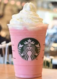 cotton candy frappuccino blended crème beverage