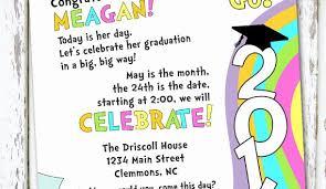 Preschool Graduation Announcements Kindergarten Graduation Invitation Template Collegio