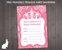 best images about printable birthday party invitations on our princess party invitation for