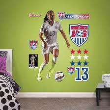 girls soccer bedroom