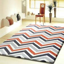 orange and gray rugs contemporary modern grey with orange indoor area rug for and design 5