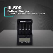 Liitokala Lii-500 <b>18650</b> ЖК-дисплей <b>зарядное устройство 26650</b> ...