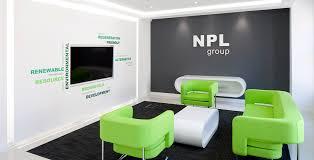 green office interior. Energy Assets Green Office Interior I