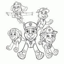 Paw Patrol Tekenen Kleurplaat Kleurplaat Voor Kinderen