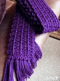 Free Crochet Patterns For Scarves Stunning Free Crochet Pattern Zip Line Scarf Bufandas Tejidas Pinterest