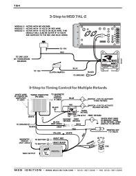 msd ignition wiring diagrams msd 3 step to 7al 2