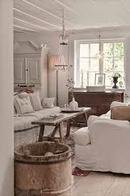 Living room in white and wood. White RoomsCountry Living Room RusticShabby  Chic ...