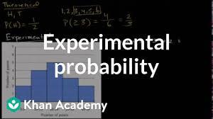 Simple True Experimental Design Experimental Probability Video Khan Academy