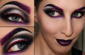 maleficent makeup look for
