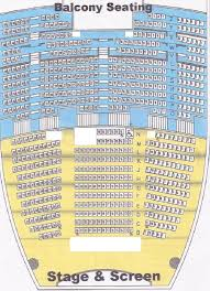 Experienced Dolby Theater Seat Map Pantages Seating Chart