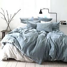 duvet cover linen vs cotton tell me more duvet cover 100 stonewashed linen 220x240 dusty blue tell bedding sets linens n things linen blend duvet cover