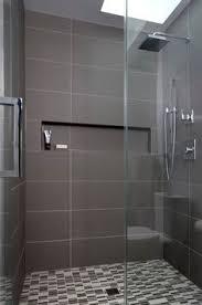 modern shower tile. Fine Tile Warm Gray Porcelain Tiles Create A Modern Masculine Feel In This Recent  Woodley ParkDC On Modern Shower Tile I