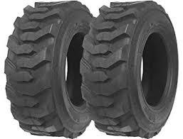 Bobcat Tire Size Chart Set Of 2 New Zeemax Heavy Duty 10 16 5 10pr G2 Skid Steer Tires For Bobcat W Rim Guard