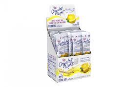 Crystal Light Sugar Free Crystal Light On The Go Sugar Free Drink Mix Lemonade 30