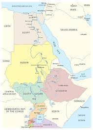 عدد منابع نهر النيل والدول التي ينبع منها