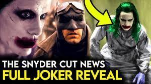 Justice League Snyder Cut - JOKER Revealed & New Details on Batman, ROBIN &  Joker's PAST! - YouTube