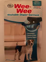 Wee Wee Diapers Size Chart Four Paws Diapers Upc Barcode Upcitemdb Com