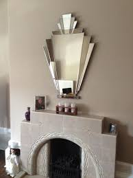 our babushka art deco mirror over a beautiful original fireplace customer s comments i