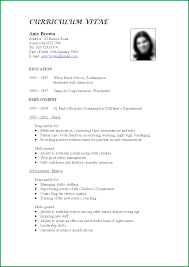 Comprehensive Resume Format 24 CV Format For Job Application HRM Applicationsformat 20
