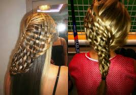 Layered Braids Hairstyles Awesome Basket Weave Braids Hairstyles Hairdromecom