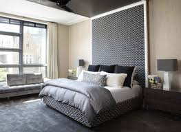 Large Headboards Home Design Ideas - Grey carpet bedroom